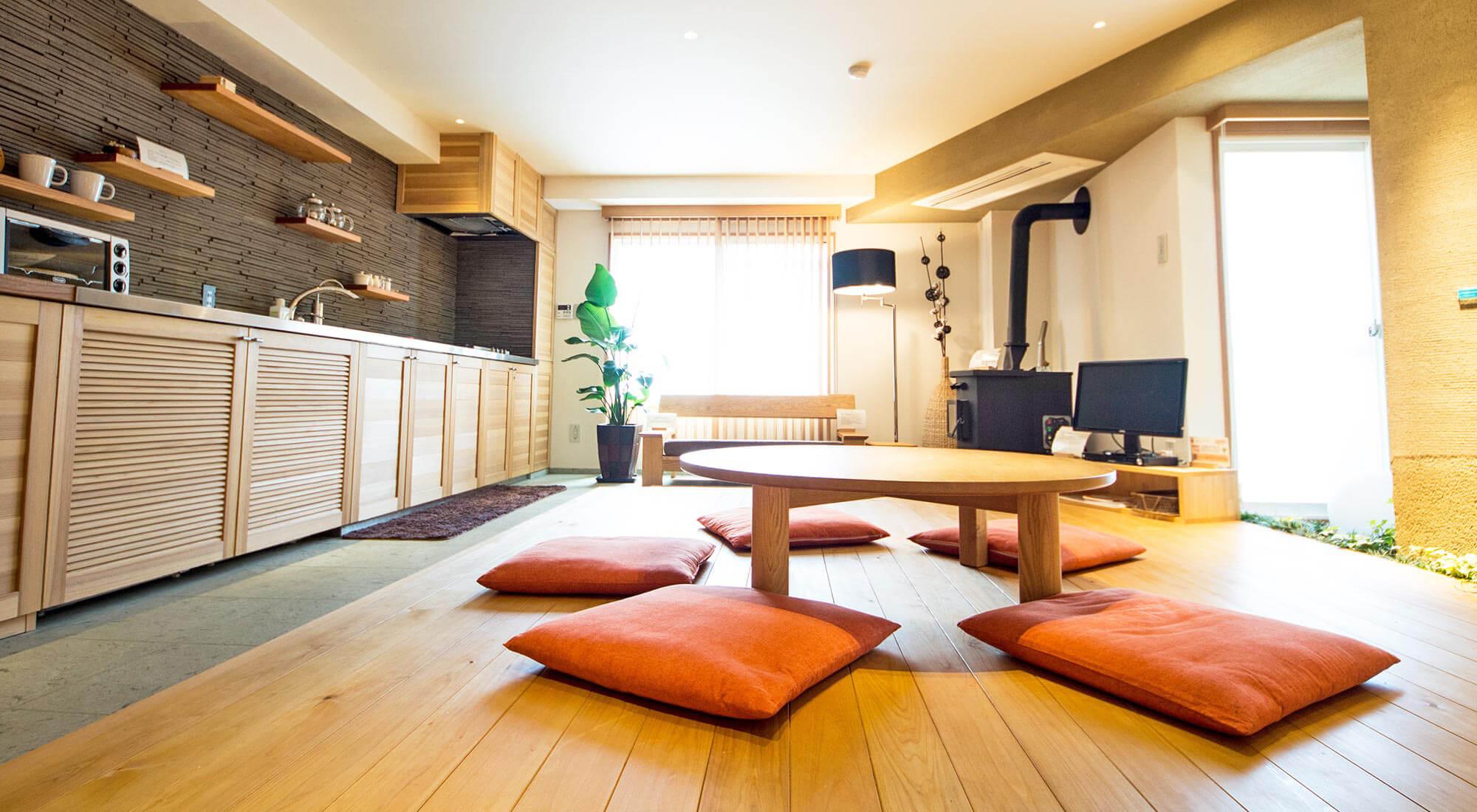 宿泊体感型モデルルーム「空まめの木」