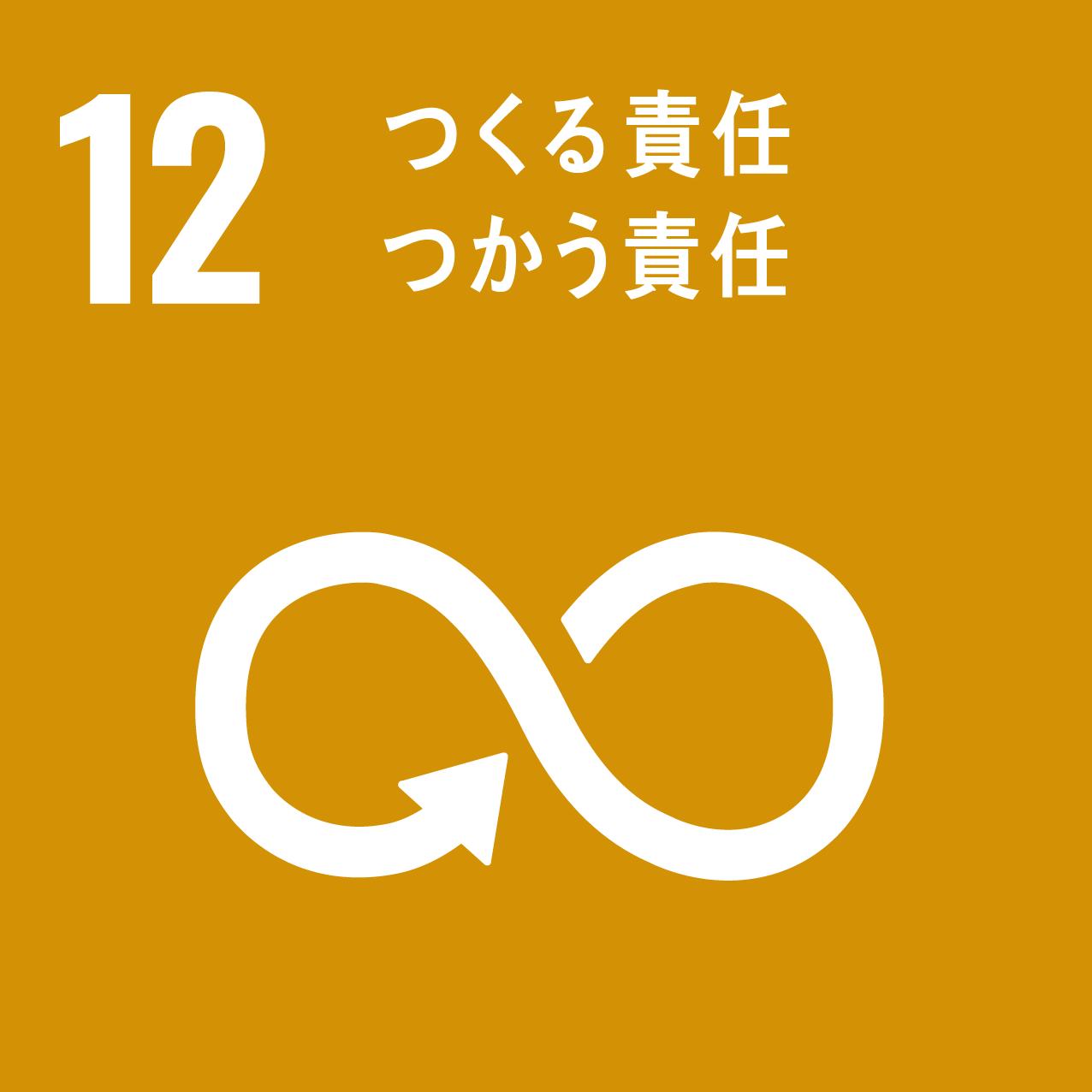 12,つくる責任 つかう責任