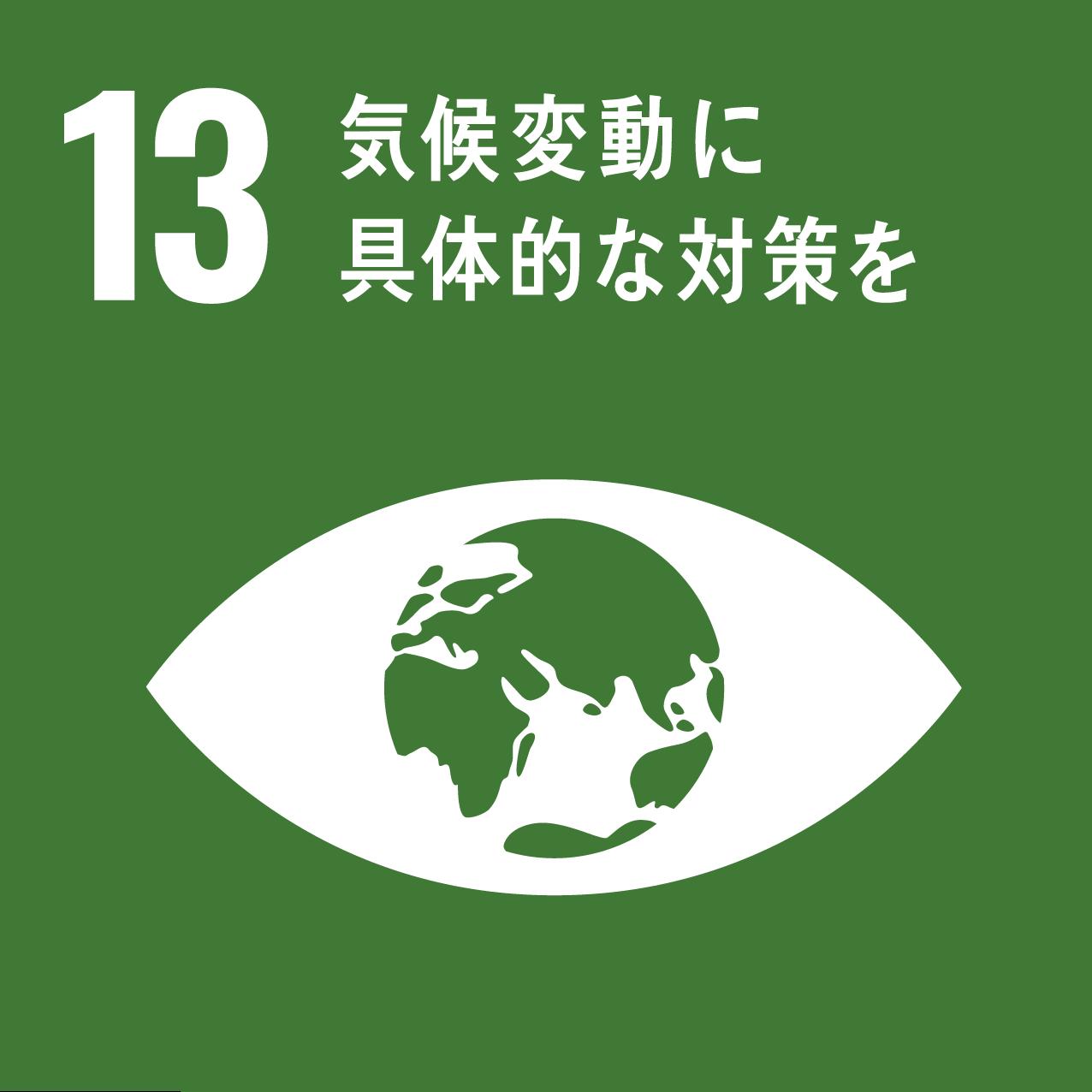 13,気候変動に具体的な対策を