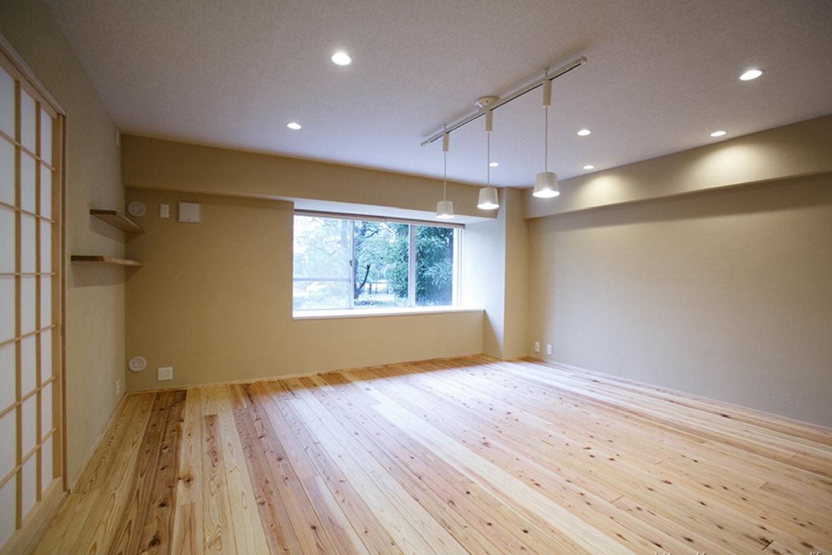 駿河屋「木材・無垢のフローリング」の事例