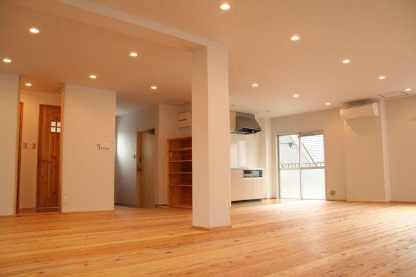 天然素材のキッチン付きシェアルーム | こだわりの自然素材・天然素材の注文住宅・リフォームの駿河屋