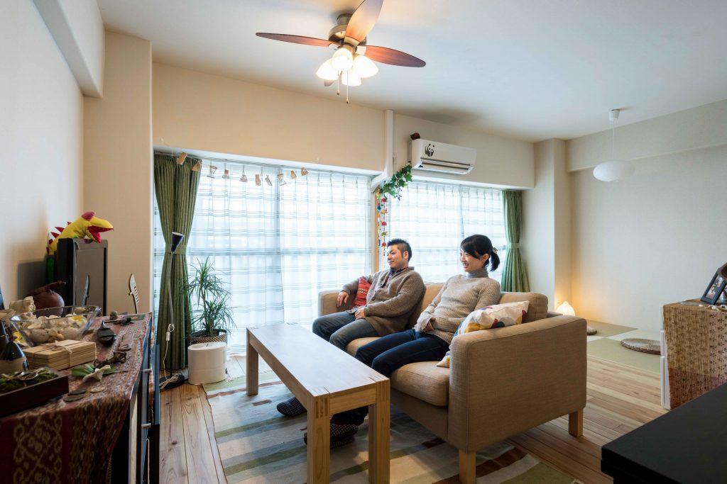 夫婦を楽しむコミュニケーションキッチンの家 | こだわりの自然素材・天然素材の注文住宅・リフォームの駿河屋