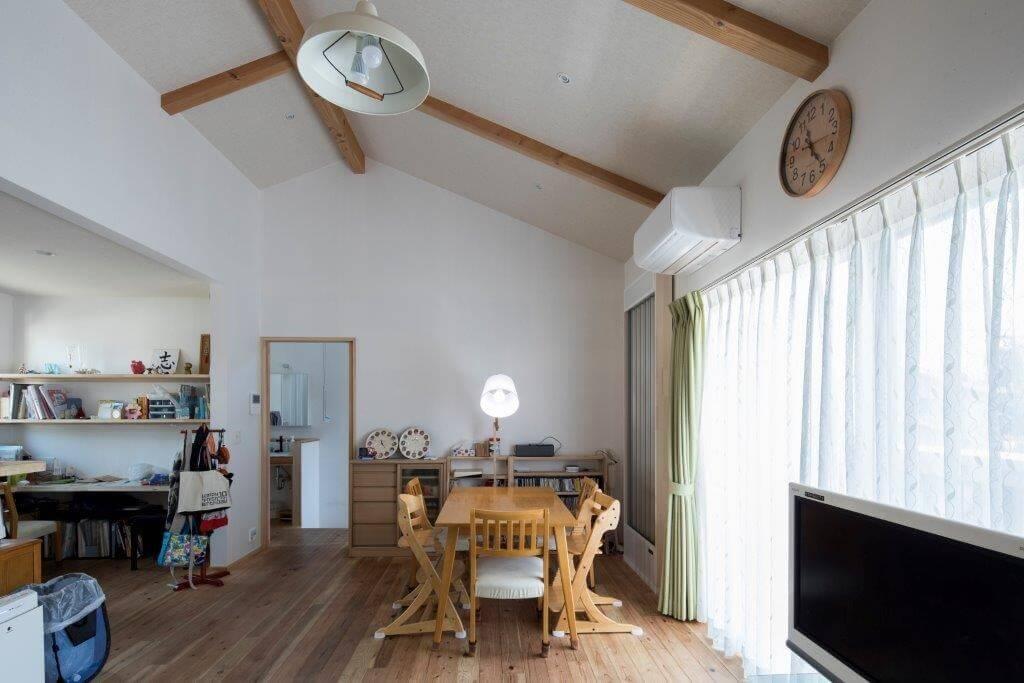 緑が繋ぐ二世帯の家 | こだわりの自然素材・天然素材の注文住宅・リフォームの駿河屋
