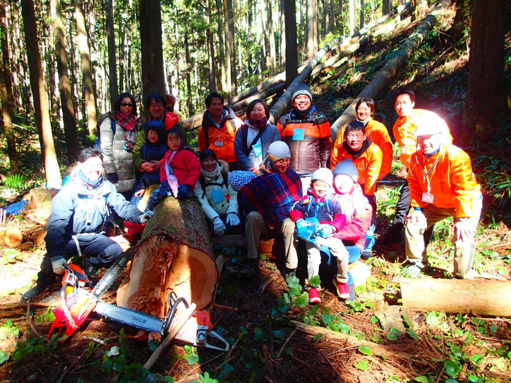 新月の木伐採ツアー2017 ~木こり体験をしよう~