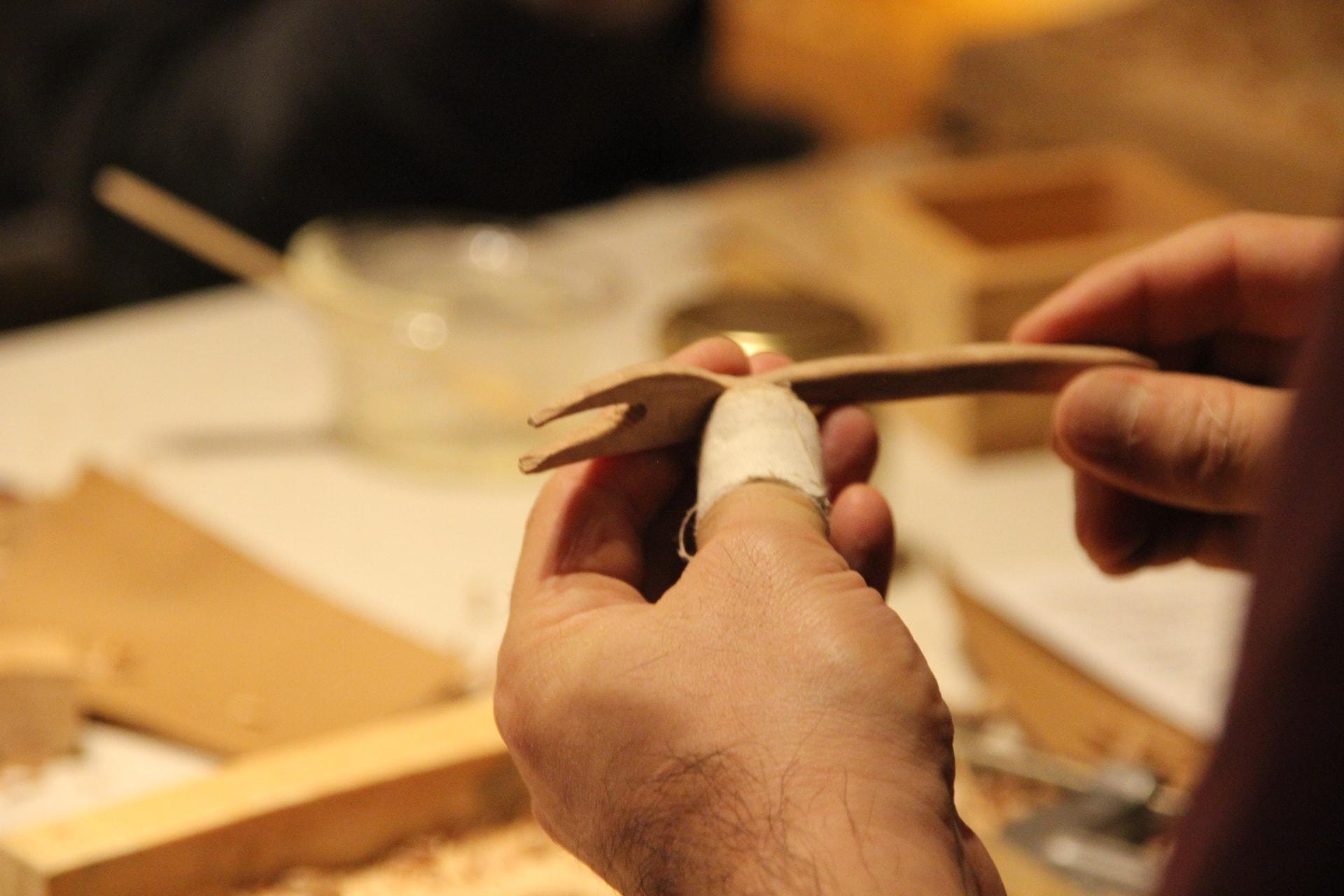 2月10日(土)ワークショップ「木のスプーンづくり」開催