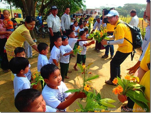 ミャンマー小学校の開校式に一緒に行きませんか!