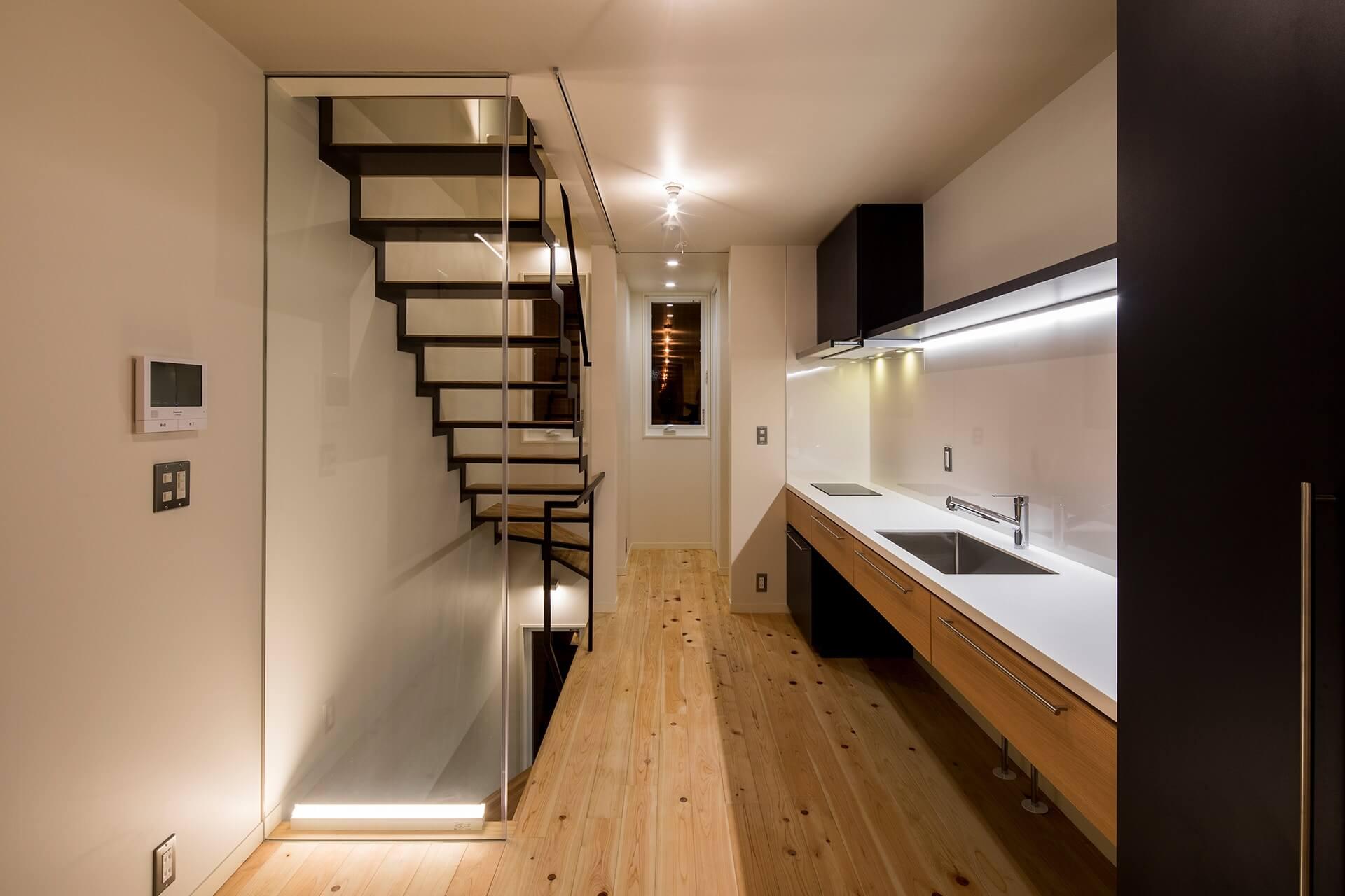 光と風が通り抜ける千駄木の立体長屋 | こだわりの自然素材・天然素材の注文住宅・リフォームの駿河屋