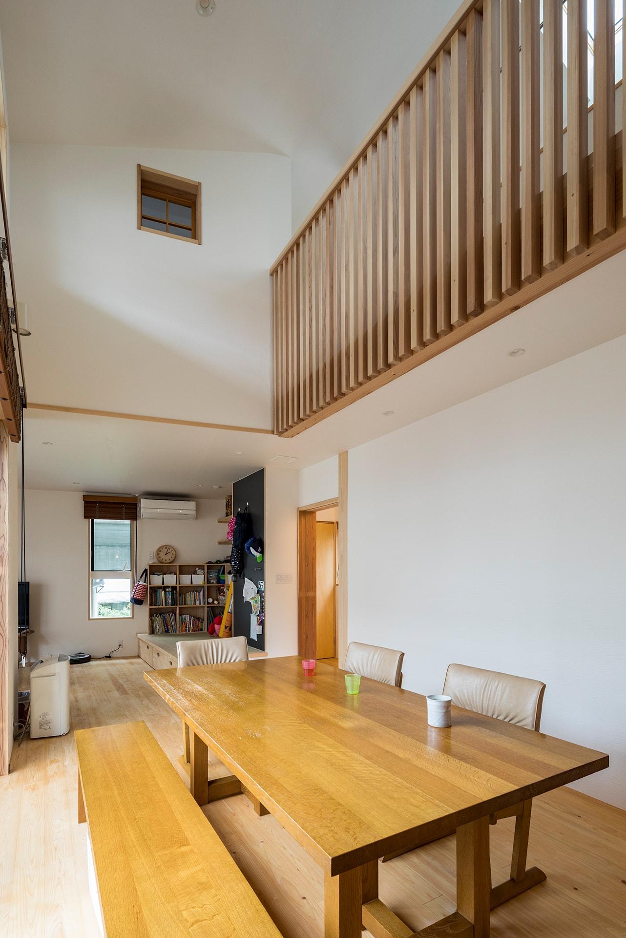 お父さんが伐った木の二世帯住宅 | こだわりの自然素材・天然素材の注文住宅・リフォームの駿河屋