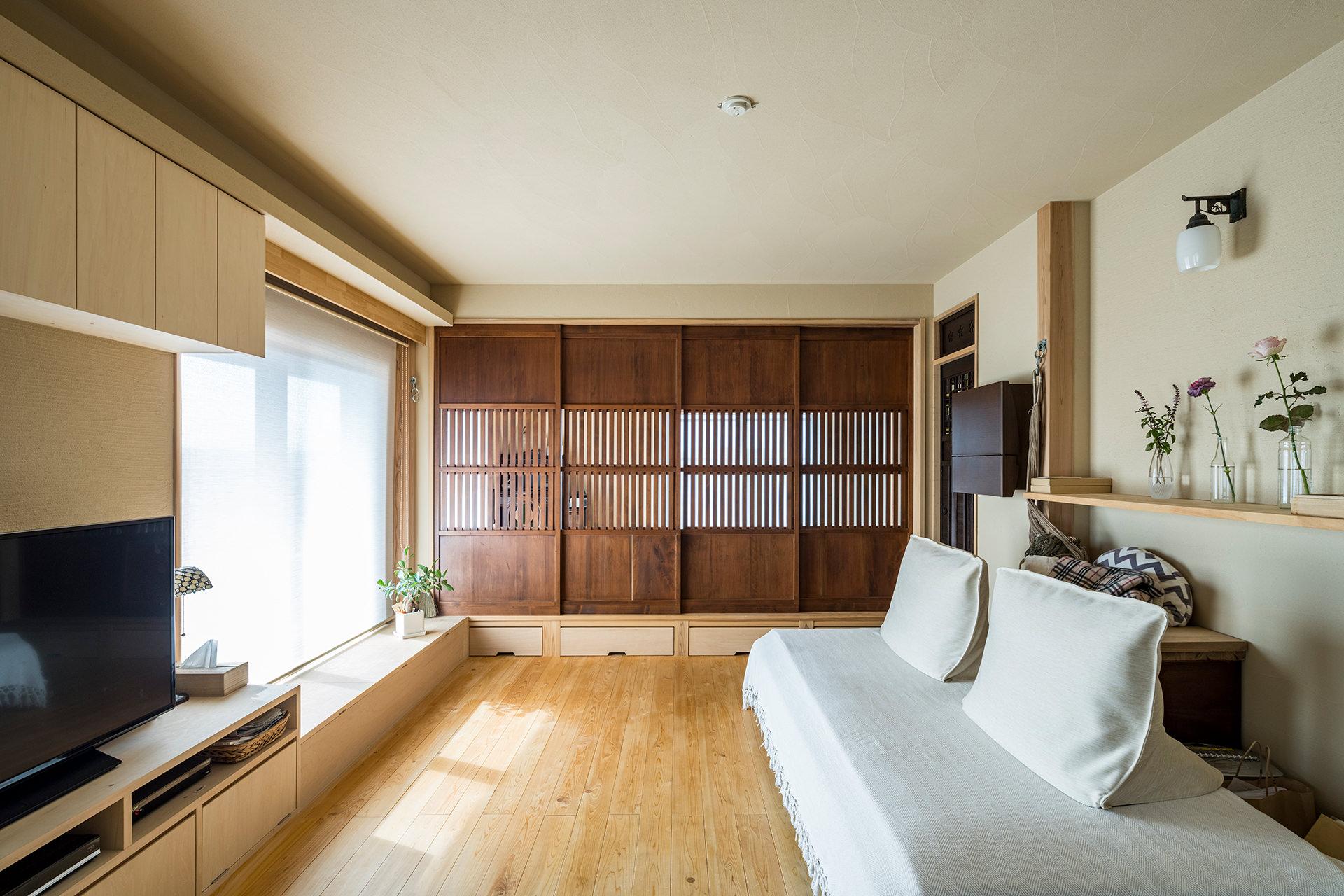 好きなものに囲まれて森林浴する古民家のような家 | こだわりの自然素材・天然素材の注文住宅・リノベーション(フルリフォーム)の駿河屋